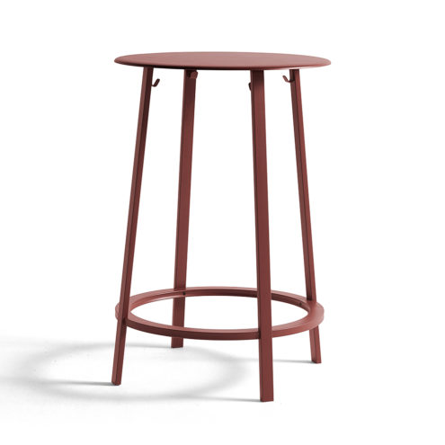 Revolver Table Red