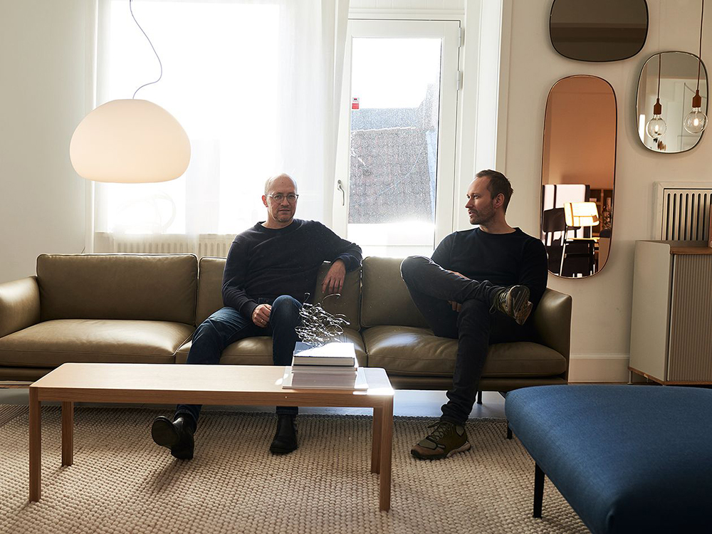 Anderssen & Vol on their Outline Sofa design