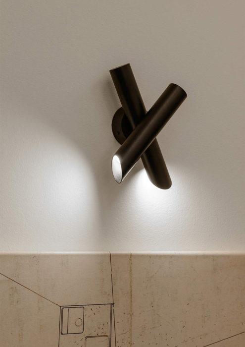 Tubes 2 Wall Light