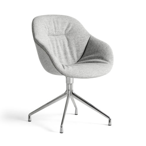 AAC121 Soft Chair Aluminium base, Hallingdal 116
