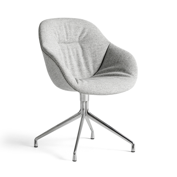 AAC121 Soft Chair Aluminium base, Hallingdal 116