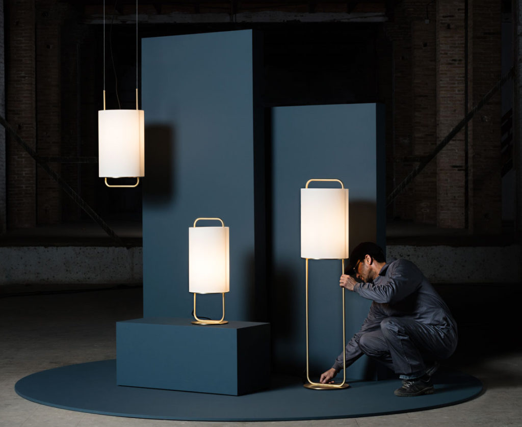 Alistair M Table Lamp, T Pendant and P Floor Lamp