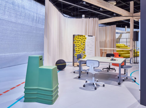 Stool-Tools with Rookie at Vitra Offices