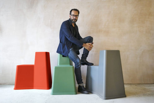 Konstantin Grcic on his Stool-Tool for Vitra