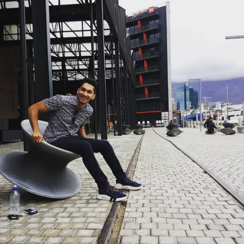 Spun Chair At Zeitz Mocca in South Africa
