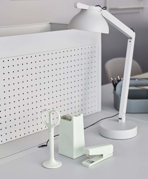 Anything Stationary in Mint with PC table lamp