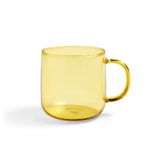 Borosilicate Mug Yellow