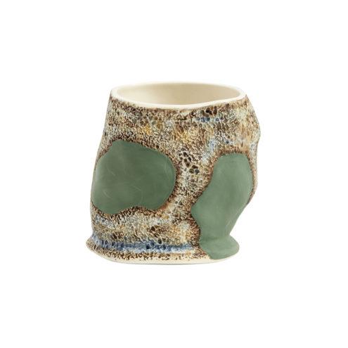 Jessica Hans Green Cow Mug 2