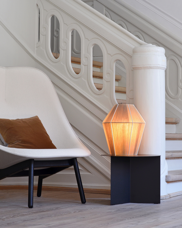 Bonbon Small Table Lamp with Uchiwa
