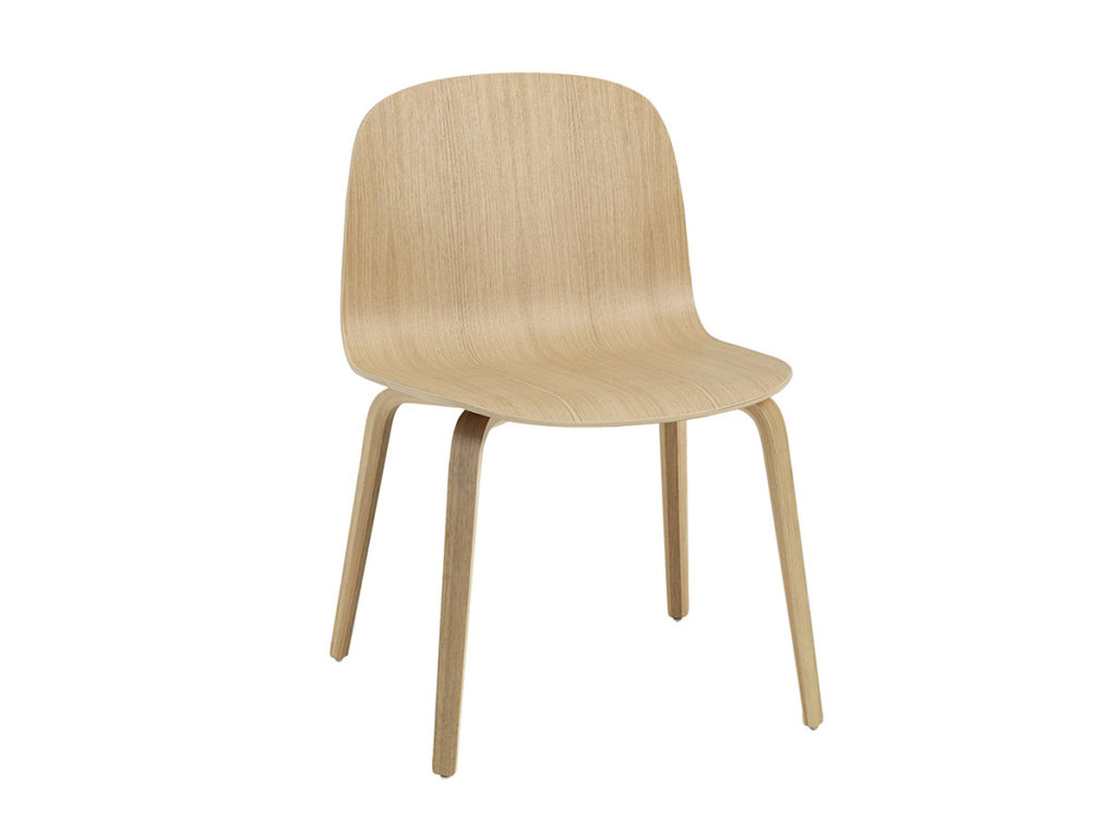 Visu Wide Chair Oak Muuto